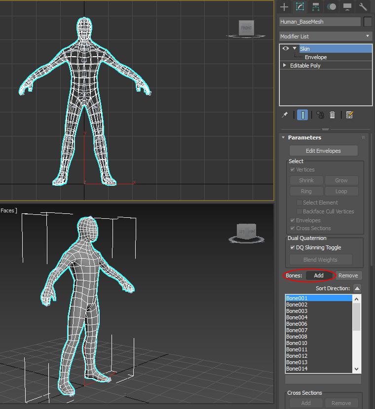 Работа с моделями 3d max работа моделью в оса