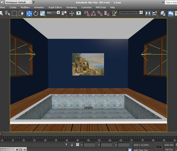 3d max как сделать воду фото 494